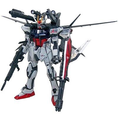 Bandai Hobby Strike Gundam + IWSP, Bandai Master Grade Action Figure: Toys & Games