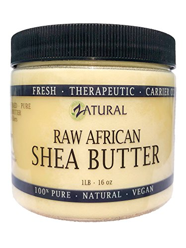 Raw Shea Butter-100% Pure, Virgin, Unrefined, Raw Ivory Shea Butter from NakedOil (16 - Pure Virgin Extra