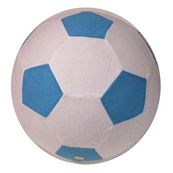 Pelota hinchable de tela (azul y blanco): Amazon.es: Juguetes y juegos