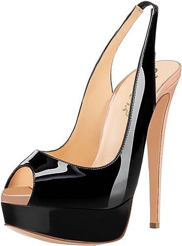 Women High Heel Pointy Hidden Platform Pump Wedding Party Shoes MyDelicious Fold