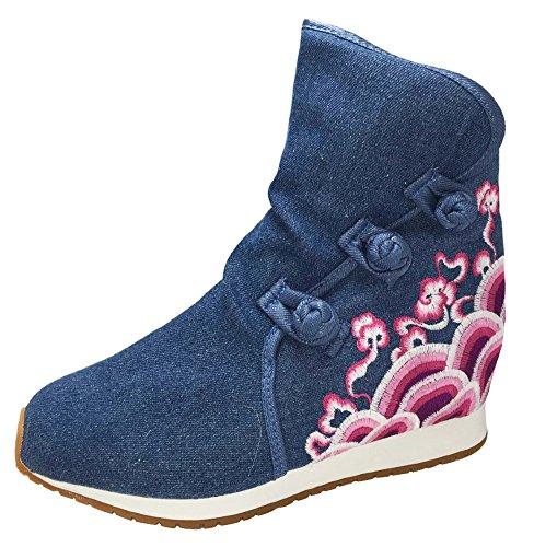 Blue Icegrey Denim Donna Icegrey Stivali Stivali Donna nf6Y0g