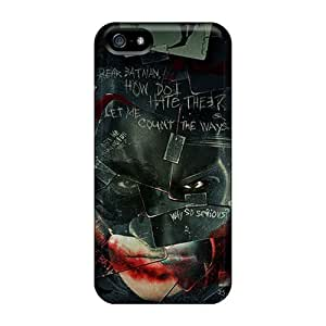 Iphone 5/5s DSy6017WBav Allow Personal Design High Resolution Batman Jokercards Skin Shockproof Cell-phone Hard Covers -CharlesPoirier