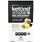 Ketond Ketogenic Meal Replacement. The Only Ketogenic Meal Replacement Shake Supercharged with goBHB™ + goMCT™ The Best Keto Shake. Period. (French Vanilla Creme)
