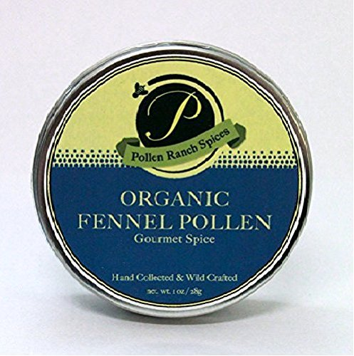 Pollen Ranch | Fennel Pollen | Organic Spice | 28 Gram Tin |1 oz. (Best Quality Saffron In The World)