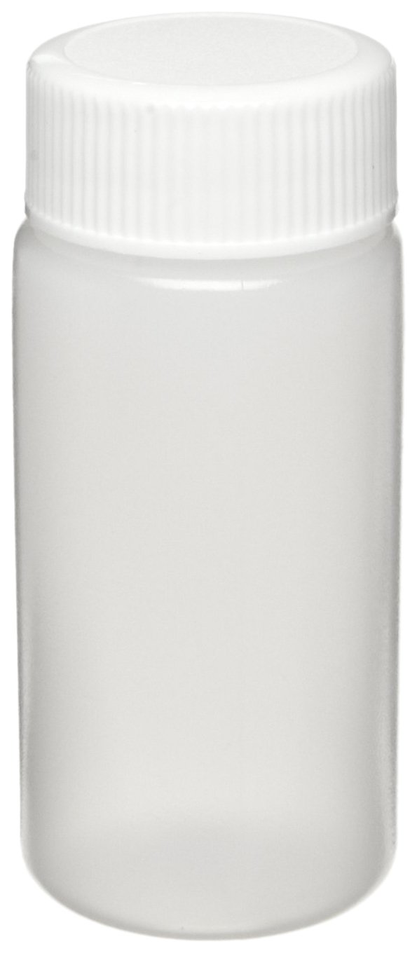 Wheaton 986710 HDPE 20mL Liquid Scintillation Vial, with Polypropylene Foamed Polyethylene Lined Screw Cap Packaged Separately (Case of 500)