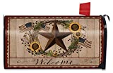 Briarwood Lane Autumn Welcome Barnstar Magnetic Mailbox Cover Primitive Standard