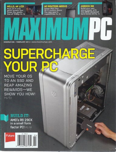 Picture of a Maximum PC February 2014
