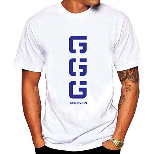 Mens Golovkin Ggg Tee Shirt White