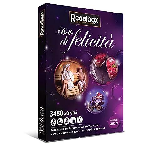 Regalbox - Bolle di felicità - Cofanetto regalo: Amazon.it: Sport e ...