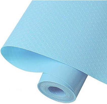 Blu 30 x 150 cm Tappetino Impermeabile per mobili da Cucina Tavolo da Pranzo Antiscivolo GFfsdghsh 2 Rotoli di Rivestimento Eva per mensole e cassetti