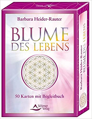 Blume Des Lebens 50 Karten Mit Begleitbuch Amazon De