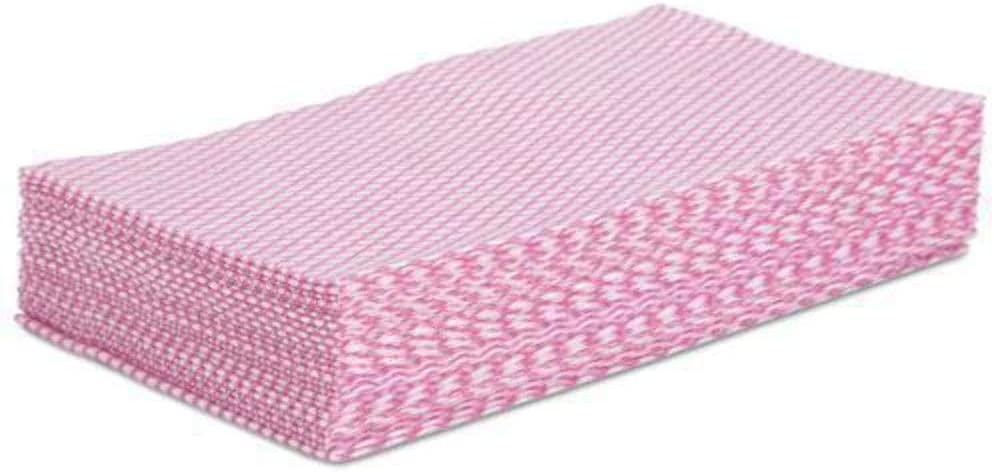 Boardwalk Foodservice Wipers, Pink/White, 12 X 21, 200/Carton