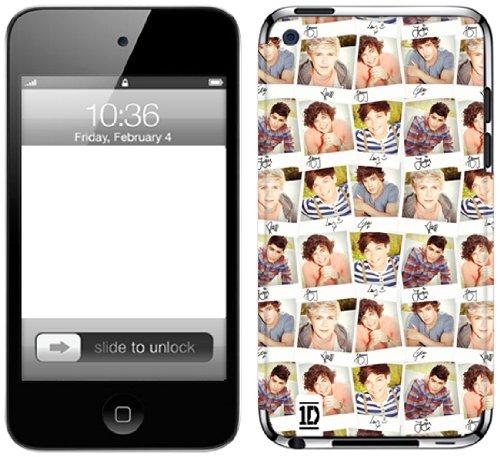 Zing Revolution One Direction Premium Vinyl Adhesive Skin for iPod touch 4G (Polaroid)