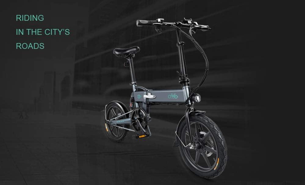 Teamyy Bicicleta Eléctrica Plegable 3 Modos Ciclismos con Batería ...