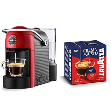 Lavazza Jolie Independiente Máquina de café en cápsulas Negro, Rojo 0,6 L 1