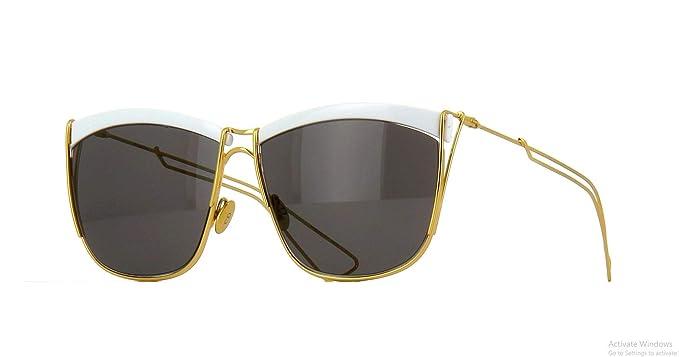 afdfe0b161e Dior SoElectric Square Women Sunglasses (White Gold Frame