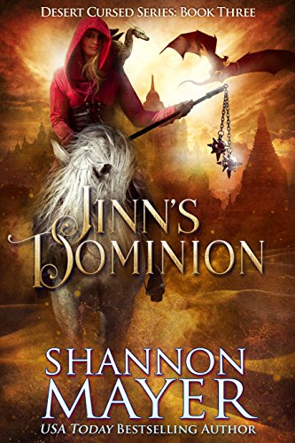 Jinn's Dominion (Desert Cursed Series Book 3) cover