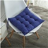 AMZ Microfibre Chair Pad Cushion Seat (Royal Blue, 15x15inch)