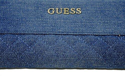 Guess, Borsetta da polso donna blu Blau