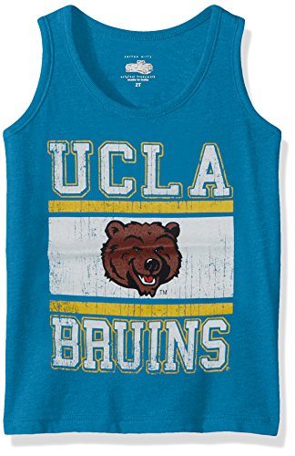 Cotton Willy Children Girl's Sleeveless Tee, USC Blue Blend, 10 (Usc Youth Sweatshirt)