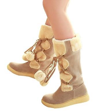 Geili Damen Winterstiefel Schneestiefel Snow Schuhe