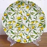 "Burton Edith Tablecloth 8"" Nature Ceramic"