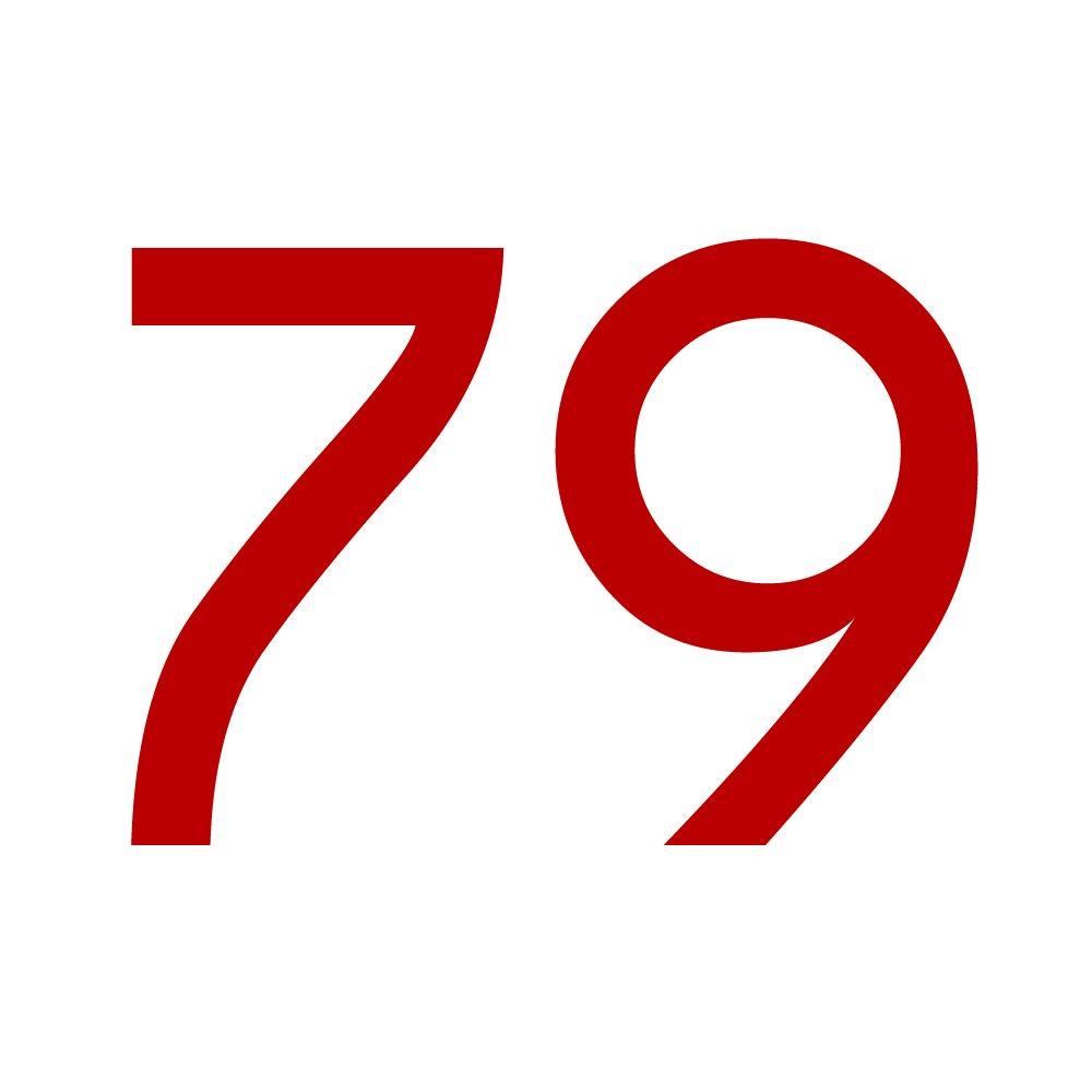 Aufkleber mit Zahlen in vielen Farben Zahlenaufkleber Nummer 79 gold 2cm 20mm H/öhen wetterfest hoch