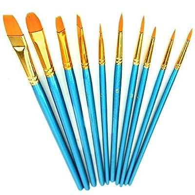 Xpassion Paint Brush Set Acrylic