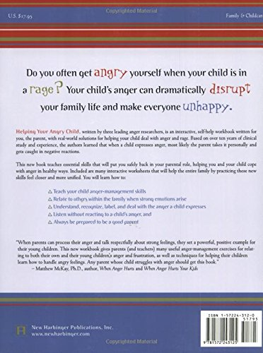 Helping Your Angry Child: A Workbook for You and Your Family ...