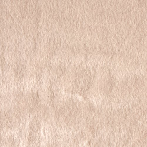 Shannon Fabrics Faux Fur Sable Fabric, Ice Pink