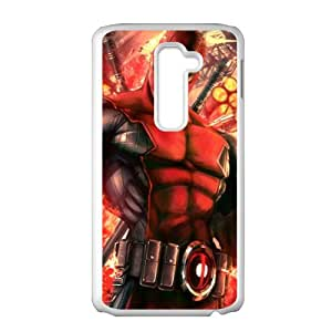 Valiant Warrior Deadpool Cell Phone Case for LG G2
