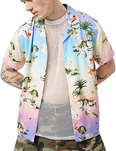 (Pacinoble Men's Lightweight Mesh Fishnet T-Shirt O-Neck Sexy Muscle Top White)
