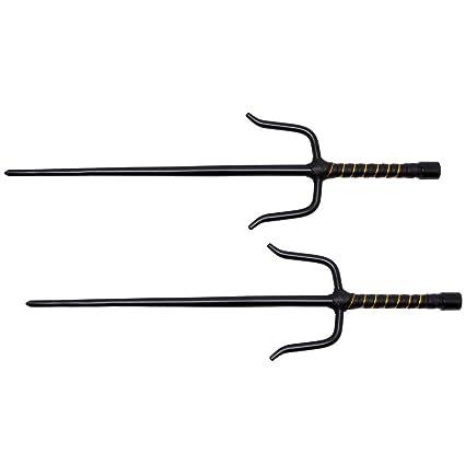 Amazon.com : Shadow Cutlery Ninja Octagon Sai - Set of 2 ...