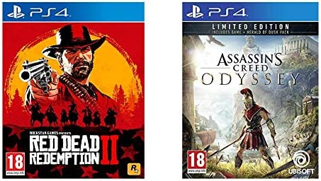 Red Dead Redemption 2 + Assassins Creed Odyssey Limited Edition ...