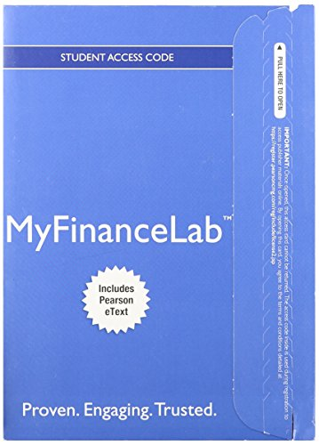 NEW MyLab Finance with Pearson eText -- Access Card -- for Fundamentals of Investing