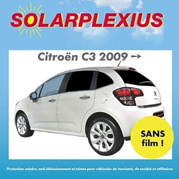 CITROEN C3 Solarplexius Car Sun Visor for the year 2009 ▻ 25726E- 5 ... ed0f4b79af0