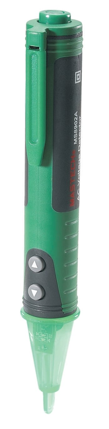 Mastech MS8902A Ac Voltage Detector and Metal Detector 12V-600V AC//50 Hz 60 Hz LCD Display 157 mm x 24 mm x 20 mm