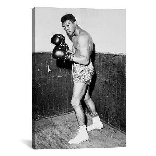 iCanvasART 10014 Winner of Golden Gloves Heavyweight Title, 1960 Canvas Print, 40