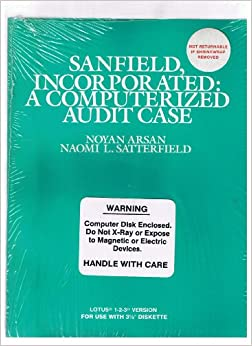 """Descargar Utorrent Android Sanfield, Incorporated : A Computerized Audit Case: With 3 1/2"""" Diskette PDF PDF Online"""