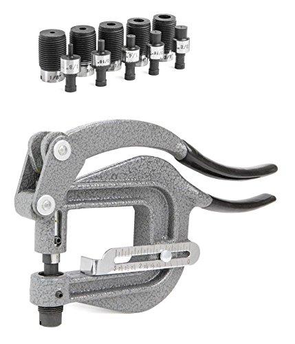 Deep Throat Power Punch Portable Hand Sheet Metal Rivet Hole Auto Body Tool by Jikkolumlukka (Image #2)