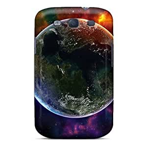 Hard Plastic Galaxy S3 Cases Back Covers,hot Colorful Space Universe Cases At Perfect Customized