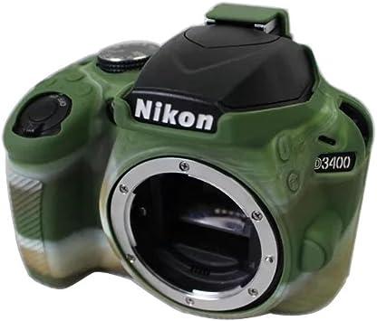 kinokoo Funda protectora de silicona para cámara compatible con ...