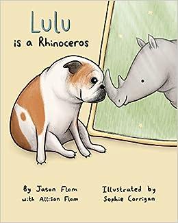 3fc0792c8d2092 Lulu Is A Rhinoceros: Jason Flom, Allison Flom, Sophie Corrigan:  9780692070987: Amazon.com: Books