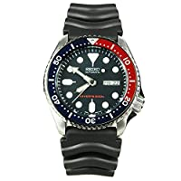 Seiko Men's SKX009K2 Diver's Automatic Blue Dial Watch by Seiko