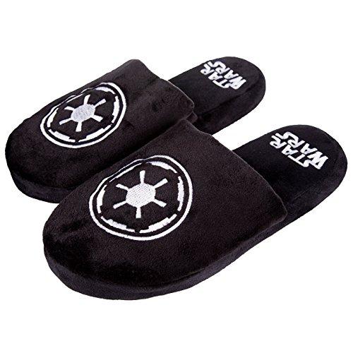 Star Wars - Zapatillas de estar por casa para hombre Negro