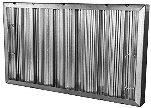 HMC Econo Baffle Galvanized Commercial Grease/Hood Filter, 12