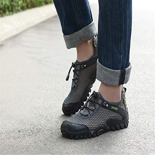 Suola Donna UK Breathable Viken Sportivi Estate Wading Uomo Shoes da Holes Sandals Scarpe Sandali Acqua Sneakers Hiking Man Outdoors Azer Walking Antiscivolo All'aperto Corsa k05 Grigio Ftt5wq1