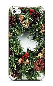 ifamu7jfi06X get7ajuste perfecto vacaciones Navidad–Funda para iPhone 5C