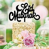 Acrylic Eid Mubarak Ramadan Cake Topper Muslim Islam Hajj Cake Decorating Tools Ramadan Events Party Supplies