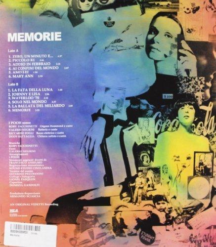 Vinilo : I Pooh - Memorie (LP Vinyl)